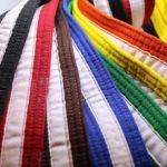 Passage de grade ceintures couleurs